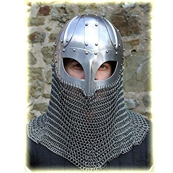 Chain mail helmet 1