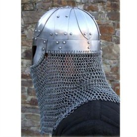 Chain mail helmet 2