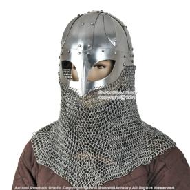 Chain mail helmet 3