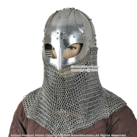 Chain mail helmet 3